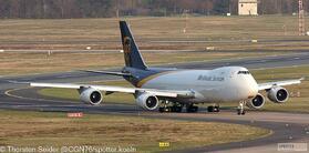 UPS 747-800 N612UP