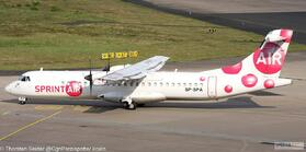 SprintAir ATR-72-200 SP-SPA OE-LGJ