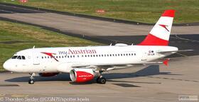 Austrian Airlines A319-100 OE-LDE