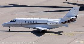 NetJets Europe Cessna 680A CS-LTG