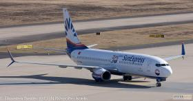 TC-SOH SunExpress 737-800W