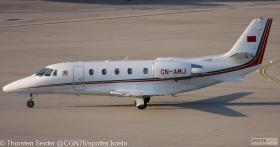 Morocco Air Force Cessna 560XL CN-AMJ