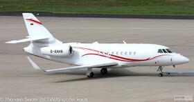 MHS Aviation Falcon 2000LX