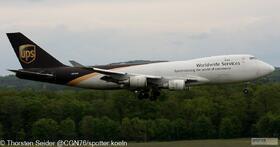 UPS 747-400 N576UP