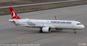 Turkish Airlines A321-200NX TC-LTB