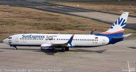 SunExpress 737-800W TC-SEI