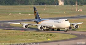 UPS 747-800 N625UP