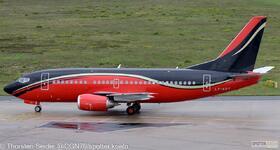KlasJet 737-500 LY-KDT