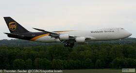UPS 747-800 N615UP