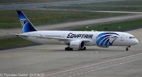 SU-GET EgyptAir 787-9 Dreamliner