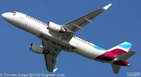 Eurowings A320-200W D-AIZV