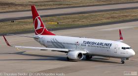 Turkish Airlines 737-800W TC-JZF