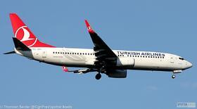 Turkish Airlines 737-800W TC-JZH