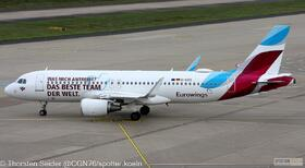 Eurowings A320-200W D-AIZS