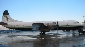 Atlantic Airlines Lockheed L-188CF Electra G-LOFE