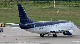 KlasJet 737-500 LY-JMS