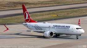 Turkish Airlines 737 MAX 8 TC-LCA