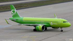 S7 Airlines A320-200NEO VQ-BRB