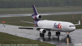 FedEx MD-11 N607FE