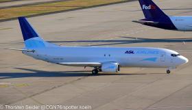 ASL Airlines Ireland 737-400SF EI-STU Cologne/Bonn 18.12.2020