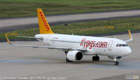 Pegasus Airlines A320-200NEO TC-NCF