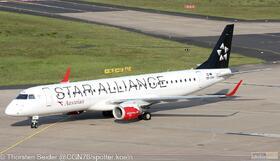 Austrian Airlines EM-195LR OE-LWH
