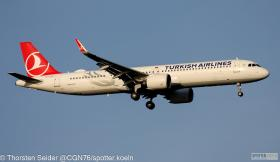 TC-LSO Turkish Airlines A321-200NX