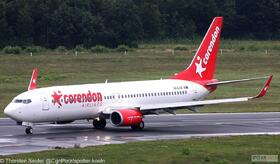 Corendon Airlines Europe 737-800W 9H-CXB