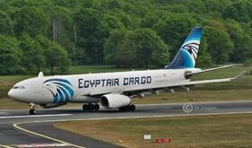 SU-GCE EgyptAir Cargo A330-200