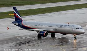 Aeroflot A321-200 VQ-BEA