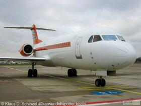 PH-KBX Netherlands - Government Fokker 70