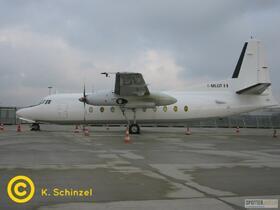 I-MLQT Miniliner Fokker F27-400 Friendship