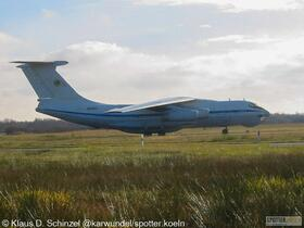 4K-AZ27 Silk Way Airlines Ilyushin IL-76TD
