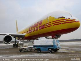 DHL G-DHKM Boeing 757-200F
