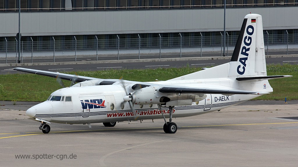 WDL Aviation Flotte, history (27.11.2018)